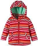 TOM TAILOR Kids Baby - Mädchen (0-24 Monate) Jacke striped softshell jacket/402, Gr. 62, Rot (heart red)
