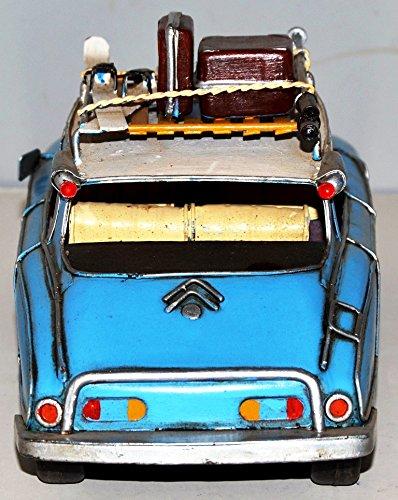 Citroen DS Car Vintage 1955 Metal To Metal Car Metal Model of Tin Model Vintage Car 30 cm 37371 Approximately