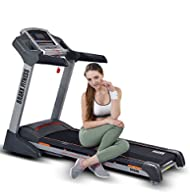 Buy Branx Fitness Foldable 'Elite Runner Pro' Treadmill - 23km/h - 6hp - 0-22% Auto incline - Body Fat Readout - Free Twister Included Comparison-image