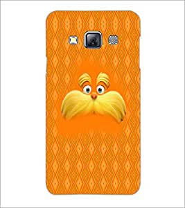 PrintDhaba Mustache D-5053 Back Case Cover for SAMSUNG GALAXY A3 (Multi-Coloured)
