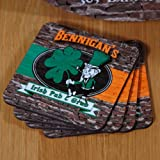 Irish Pub & Grub Coasters (Set of 4)