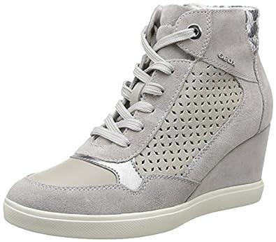 Amazon.com: Geox Women's D Eleni 9 Fashion Sneaker, Light
