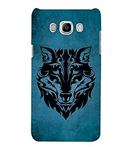 Lion design Designer Back Case Cover for Samsung Galaxy J7(2016) Edition 5.5 Inches Screen