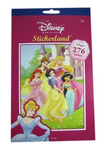 Official Disney Princess Sticker Pad