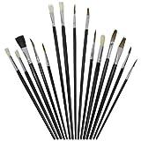 Artina Pinselset Basic 15teilig ideal für Anfänger und Hobbymaler