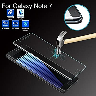 ABC® Samsung Galaxy Note7 Tempered Glass Clear 3D Full Cover Screen Film Protetor