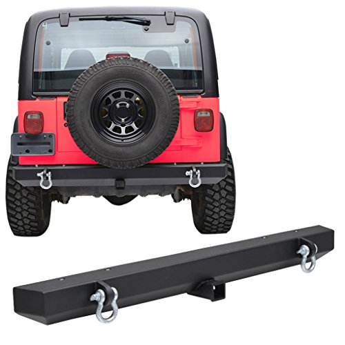 X-restyling Rear Bumper for Jeep Wrangler TJ YJ