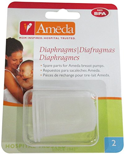 Ameda Silicone Diaphragms, 2-Count (Discontinued by Manufacturer)