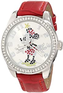 Ingersoll Women's IND 25655 Ingersoll Disney Classic Time Minnie Diamante Watch