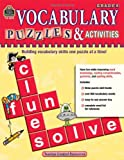 Vocabulary Puzzles & Activities, Grade 6 (1420680781) by Teacher Created Resources