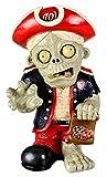 MLB Washington Nationals Resin Thematic Zombie Figurine, Red