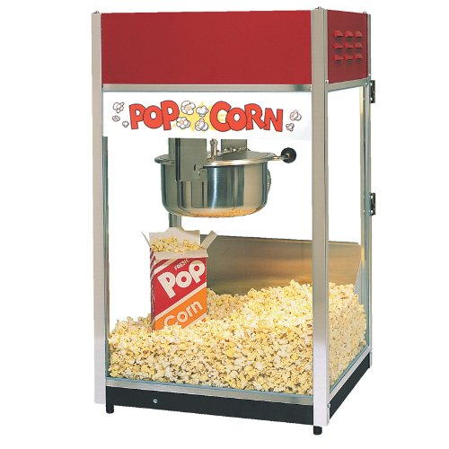 ''Ultra'' 60 Popper Popcorn Machine, 18''W x 16''D x 31''H, 6 ounce E-Z Kleen kettle, twin arm doubl... (Ez Popcorn Maker compare prices)