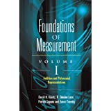 "Additive and Polynomial Representations: 1 (Foundations of Measurement)von ""David H. Krantz"""