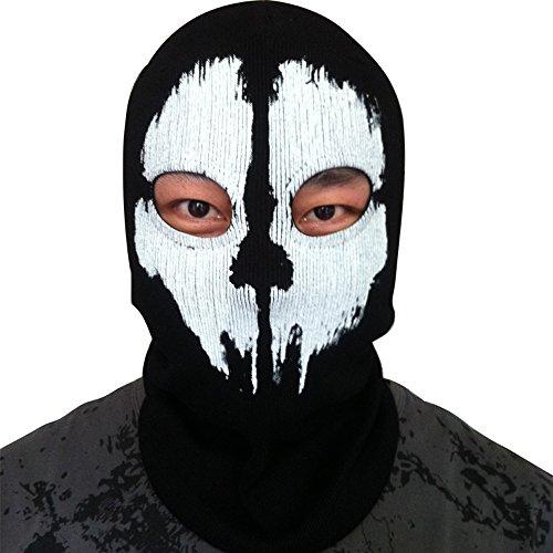 Call Of Duty 10 Cod Ghosts Logan Balaclava Ski Skull Hood: Yiding Call Of Duty 10 COD Ghost Balaclava Logan Skull