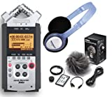 Zoom H4N Handy Recorder + Zoom APH-4N Zubehörset + Samson PH-60 Kopfhörer