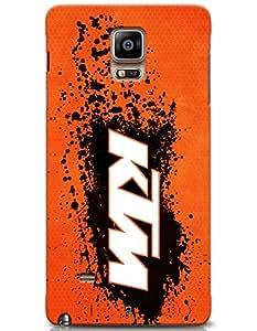 KTM Logo case for Samsung Galaxy Note 4