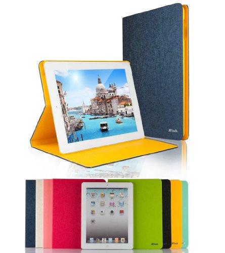 JETech® Diamond Folio Leather Smart Cover iPad Case for App