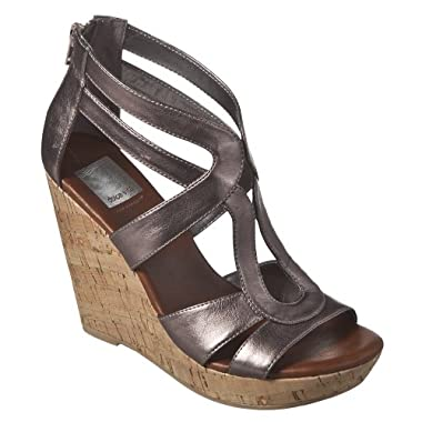 Product Image Women's Dolce Vita for Target® Cork Wedge Sandals - Pewter