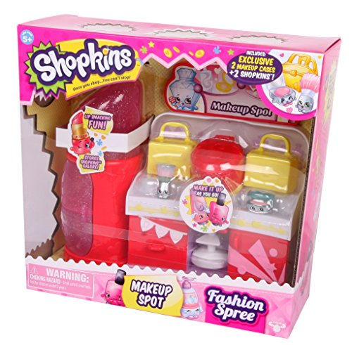 Shopkins Fashion Spree Makeup Spot JungleDealsBlog.com
