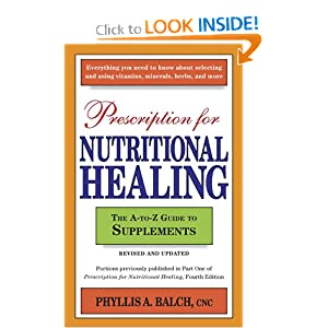 Books - pdf: Prescription for Nutritional Healing The A-to ...