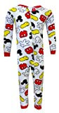 Disney Mickey Mouse Cotton Toddler Onesie Pajamas for boys