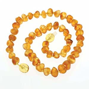 Genuine Baltic Raw Amber, Healing, Baby Teething Necklace
