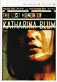 Criterion Collection: Lost Honor of Katharina Blum [DVD] [1975] [Region 1] [US Import] [NTSC]