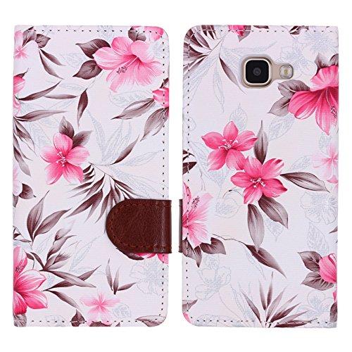 urcoverr-floreal-wallet-samsung-galaxy-a5-2016-housse-portefeuille-fleurs-dessins-in-blanc-etui-eleg