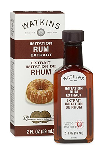 Watkins All Natural Extract, Imitation Rum, 2 Ounce (Pack of 6)  (Packaging may vary) (Natural Rum Extract compare prices)