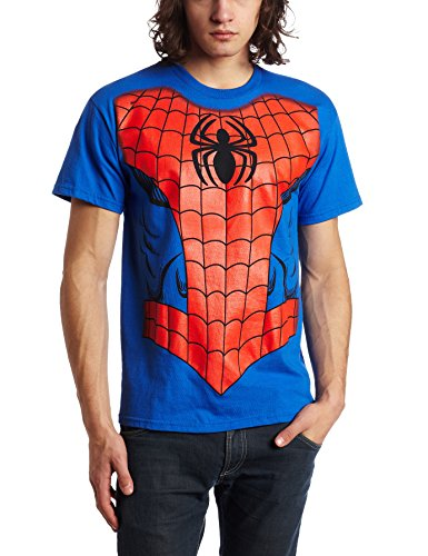 Spider-Man - Costume T-Shirt - (Small/Blue)