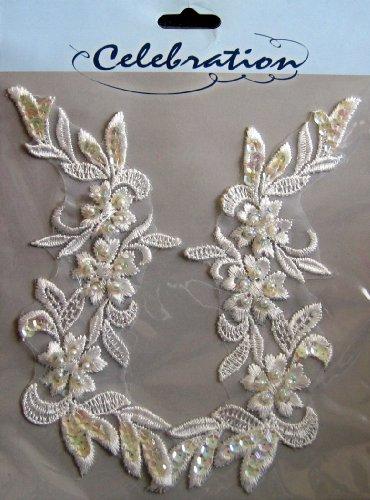Celebration Floral Lace, Faux Pearl & Sequin Appliques