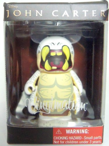Vinylmation John Carter 3 inch Figure - White Ape