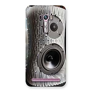 Impressive Aqua Speaker Back Case Cover for Zenfone Selfie