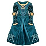 Disney Store Brave Princess Merida Adventure Hero Costume Dress Size Medium 7/8