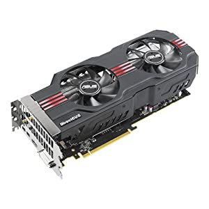 Asus AMD Radeon HD7950 DirectCU II TOP Graphics Card (3GB, HDMI, DVI-I, CrossFireX, Overclocked on Arrival)