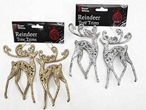 Deluxe Reindeer Christbaumschmuck