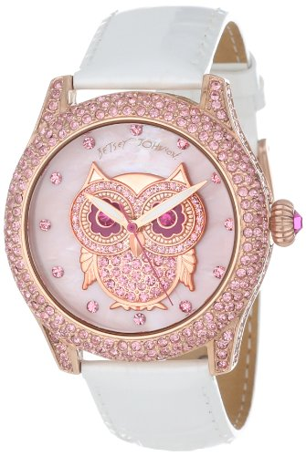 Betsey Johnson Women's BJ00019-17 Analog Owl Dial Watch