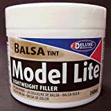 Model Lite Balsa Filler, Balsa Brown: 240cc
