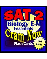 SAT II Prep Test BIOLOGY E/M Flash Cards--CRAM NOW!--SAT 2 Exam Review Book & Study Guide (SAT II Cram Now! 1) (English Edition)