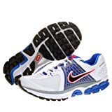 NIKE Zoom Vomero+ 6 Men's Running Shoes, White/Blue/Silver, UK8.5
