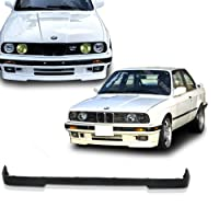 - 1984-1992 Bmw E30 3-series M-tech Type Front Pu Bumper Lip by Sasaonsale