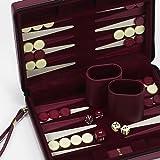 Chelsea Luxury Designer Travel Magnetic Backgammon Set