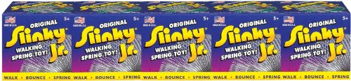 The Original Slinky Brand Metal Slinky Jr. 5 Pack