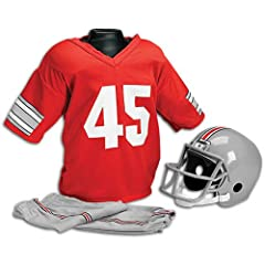 Ohio State Buckeyes Kids Youth Football Helmet Uniform Set by Franklin
