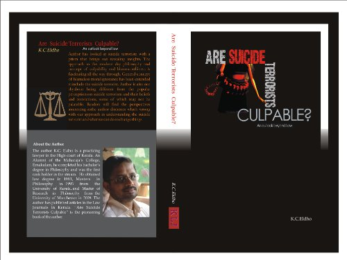 Are suicide terrorists culpable? An outlook beyond law PDF