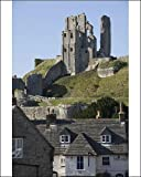 Photographic Print of Corfe Castle, built under the instructions of William the Conquerer, Dorset from Robert Harding