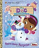 Snowman Surprise (Disney Junior: Doc McStuffins) (Little Golden Book)