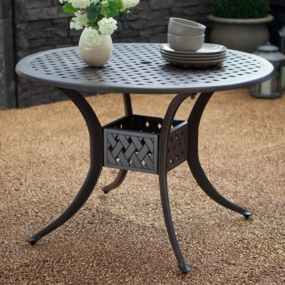 Cast Aluminum 42 in. Patio Dining Table - CDI-200DT