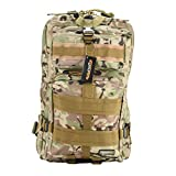 Eyourlife Sport Outdoor Military Rucksacks Tactical Molle Backpack Camping Hiking Trekking Bag-Desert Camouflage