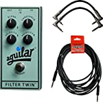 Aguilar Filter Twin Dual Filter Envelope Filter Bass Pedal w/3 Cables from Aguilar